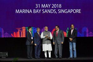 PM Modi praises India-Singapore ties, launches Indian digital payment apps