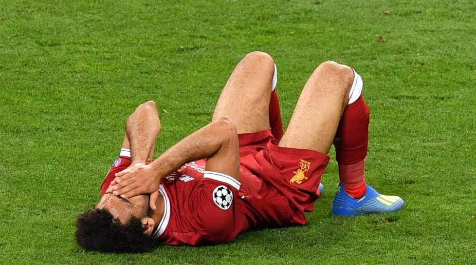 Mohamed Salah injury, Mohamed Sarah, Liverpool F.C., UEFA Champions League, Real Madrid vs Liverpool,