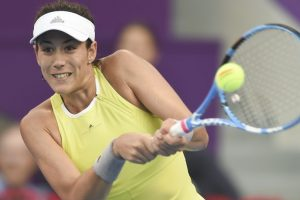 Muguruza advances at Madrid Open