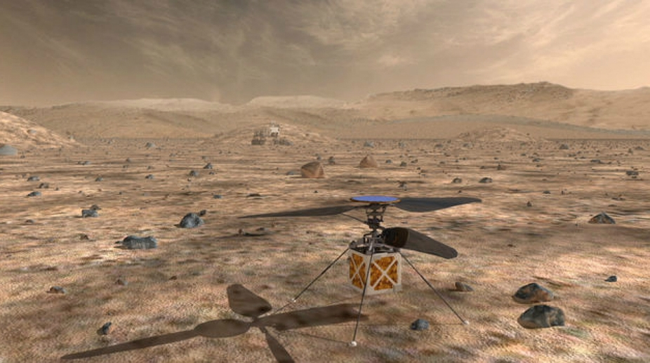 NASA Mars helicopter