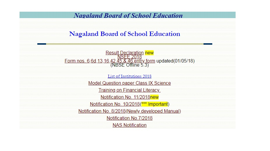 Nagaland, NBSE Class 12 Results 2018, HSSLC, pass percentage, Art, Commerce, Science, www.nbsenagaland.com, topper list