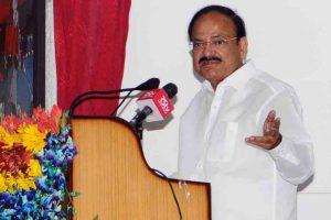 Peace is prerequisite for progress: Venkaiah Naidu