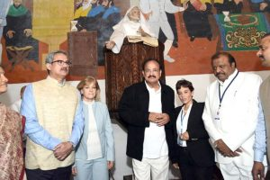 It is a clear case of life springing from ruins: Naidu at Antigua Guatemala city