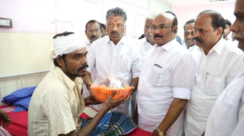 Tamil Nadu deputy Chief Minister panneerselvam