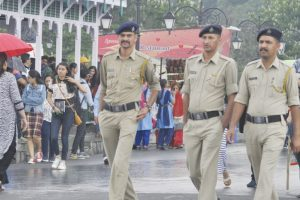 Security beefed up ahead of Prez visit to Himachal