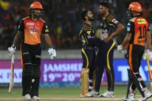 IPL 2018 Qualifier: Buoyant KKR pose tough challenge for heavyweights Hyderabad