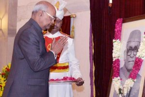 President Kovind, Mamata pay tributes to Neelam Sanjiva Reddy on his 105th birth anniversary