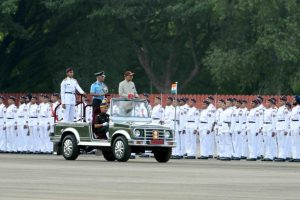 Kovind reviews passing out parade of 134th course of National Defence Academy