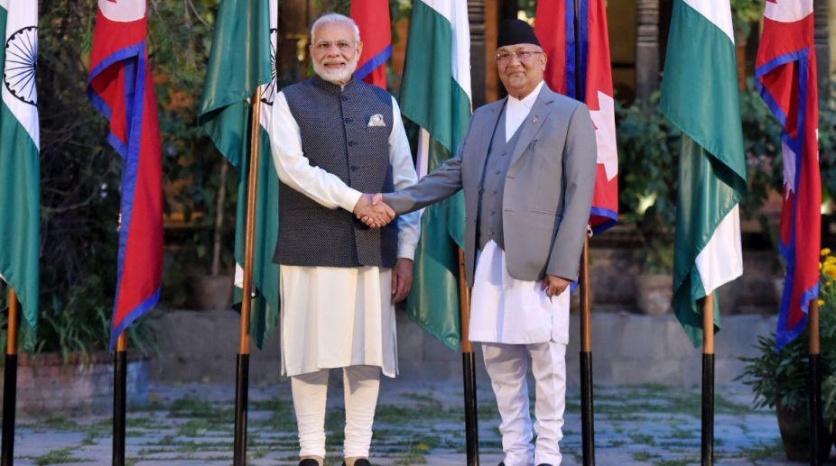 Prime Minister, Narendra Modi, India, Nepal, Prime Minister Oli