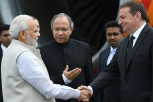 PM Modi reaches Sochi to hold 'informal' talks with Russian President Vladimir Putin