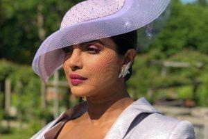 Watch: Priyanka Chopra looks every bit royal at friend Meghan Markle's wedding