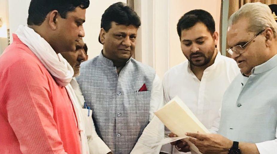 RJD, Bihar, Governor, Satyapal Malik