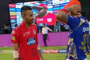IPL 2018: Here is why KL Rahul swapped jersey with Hardik Pandya