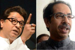Wishing to see Raj and Uddhav Thackeray a united force, man climbs repair deck