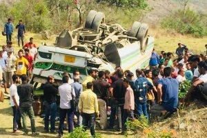 6 killed as bus falls into a gorge in Himachal Pradesh