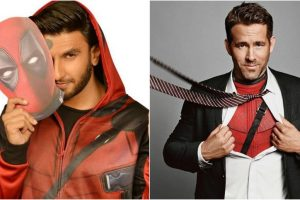 Ranveer Singh shares fan boy moment with 'Deadpool 2' star Ryan Reynolds