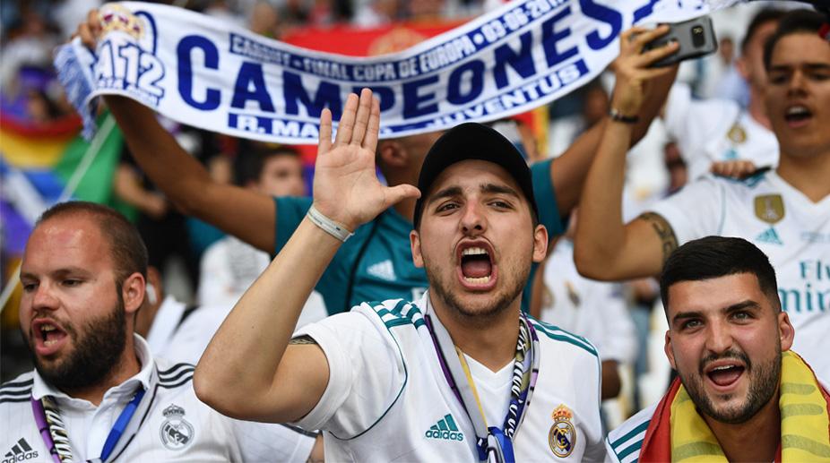 Real Madrid Fans, Real Madrid C.F. UEFA Champions League, UEFA Champions League Final, Real Madrid vs Liverpool