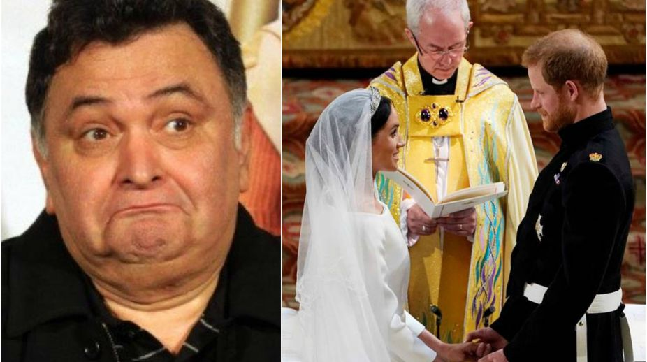 Rishi Kapoor, Prince Harry, Meghan Markle