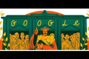 Google doodle remembers Raja Ram Mohan Roy — Father of Indian Renaissance