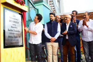 Sachin Tendulkar lays foundation of cricket museum in Dharamshala