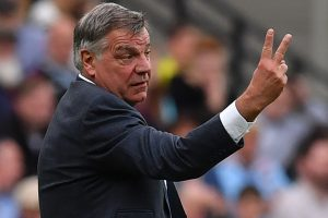 Everton manager Sam Allardyce leaves club