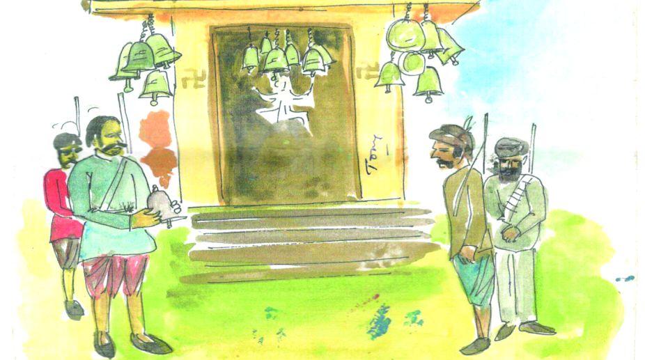 Jingle bells: Dacoits' temple offering