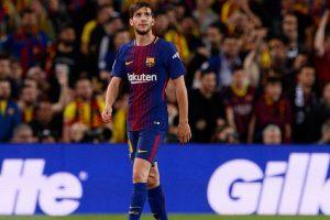 Barcelona defender Sergi Roberto suspended, know duration here