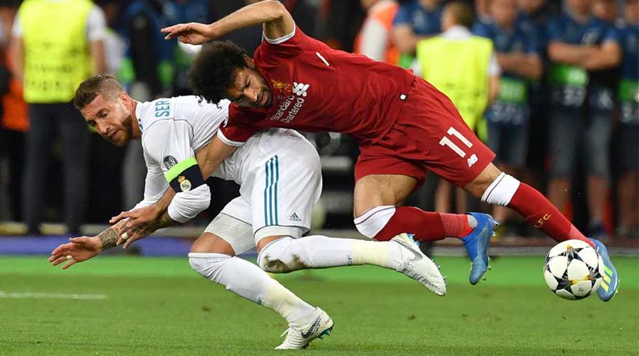 Sergio Ramos, Mohamed Salah, Liverpool F.C., UEFA Champions League, Egypt Football, 2018 FIFA World Cup, Mohamed Salah Injury, Real Madrid C.F., Sergio Ramos, Real Madrid vs Liverpool