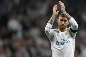 Watch: Sergio Ramos almost pulls off perfect bicycle kick in Real Madrid training