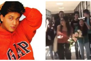 Viral: SRK's Kuch Kuch Hota Hai song serves as prom-posal backdrop for Chicago couple