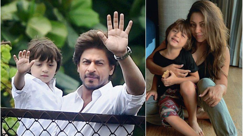 Shah Rukh Khan, Gauri Khan, AbRam