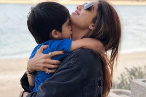 Mother's Day: Shilpa Shetty shares a video making fruit lollies with son Viaan