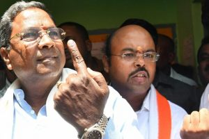 Exit polls are entertainment for next 2 days, we'll be back: Siddaramaiah