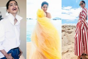 Cannes 2018: Fashionista Sonam Kapoor stuns all on Day Two