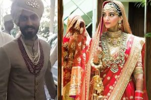 In Pictures: Sonam Kapoor-Anand Ahuja wedding look