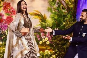 Sonam Kapoor- Anand Ahuja phenomenal reception night