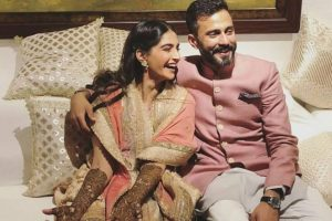 Sonam Kapoor's pre-wedding ceremonies begin with mehendi