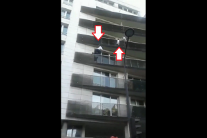Watch how Malian migrant rescues child by scaling a building like Spider-man
