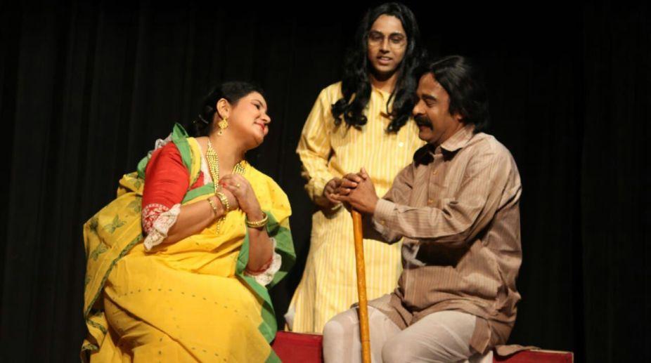 Nati Binodini, Theatre group, Chenamukh, Baidyanath Mukherjee