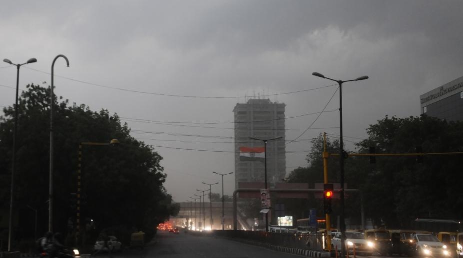 Storm Delhi