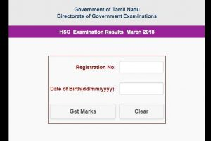 TN HSC Class 12 results 2018 declared | 91.1% pass | Check tnresults.nic.in