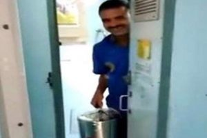 Fine of Rs 1 lakh slapped on vendor after video shows him using train toilet water to make tea