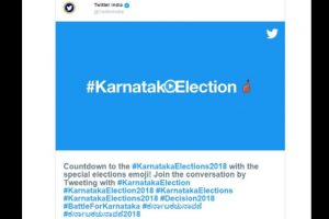 Twitter saw over 30 lakh tweets related to Karnataka polls