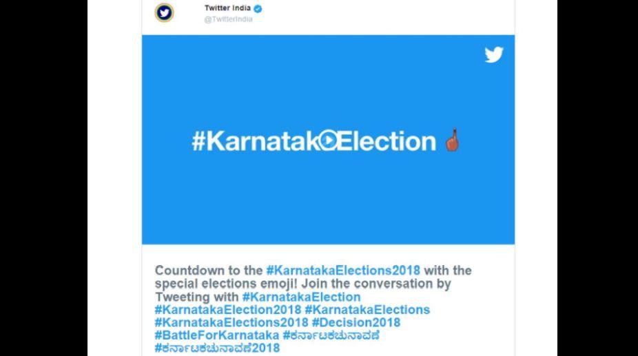Twitter, Karnataka polls