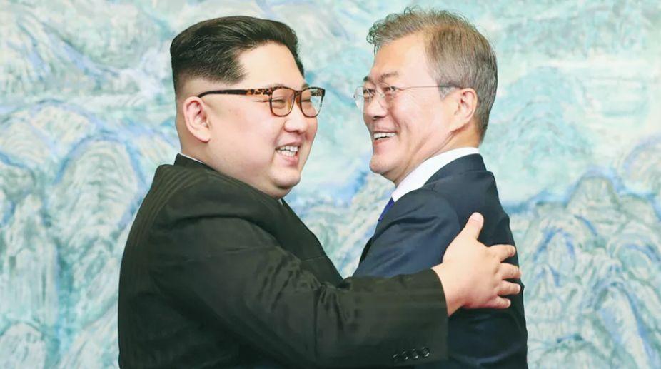 Peace Village, Panmunjom, North Korea, South Korea