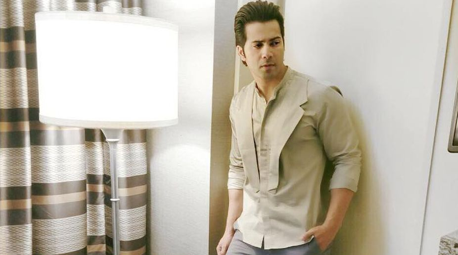 Varun Dhawan wraps up first song of 'Kalank'