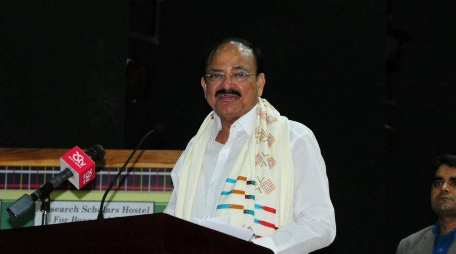 Vice President, M Venkaiah Naidu, Mizoram University