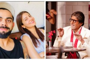After Virat-Anushka, Amitabh Bachchan accepts the fitness challenge, reveals his main mantra
