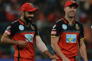 IPL 2018 | Responsibility can't be taken up by only de Villiers: Virat Kohli