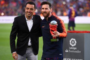 Barcelona sensation Lionel Messi wins 5th Golden Shoe